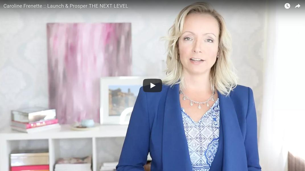 Master Intuitive Business Coach Caroline Frenette